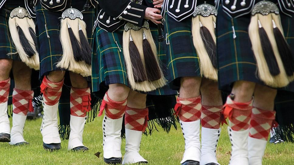 Pipe Band Kilt Socks